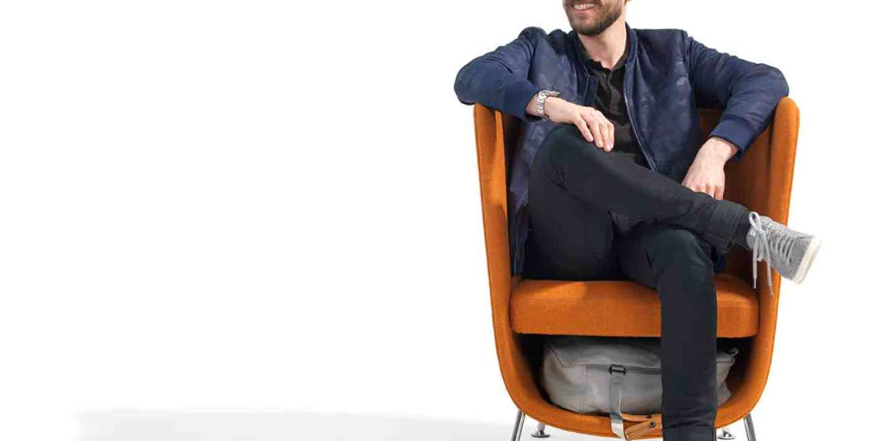 Pocket de Blå Station: una butaca con bolsillo