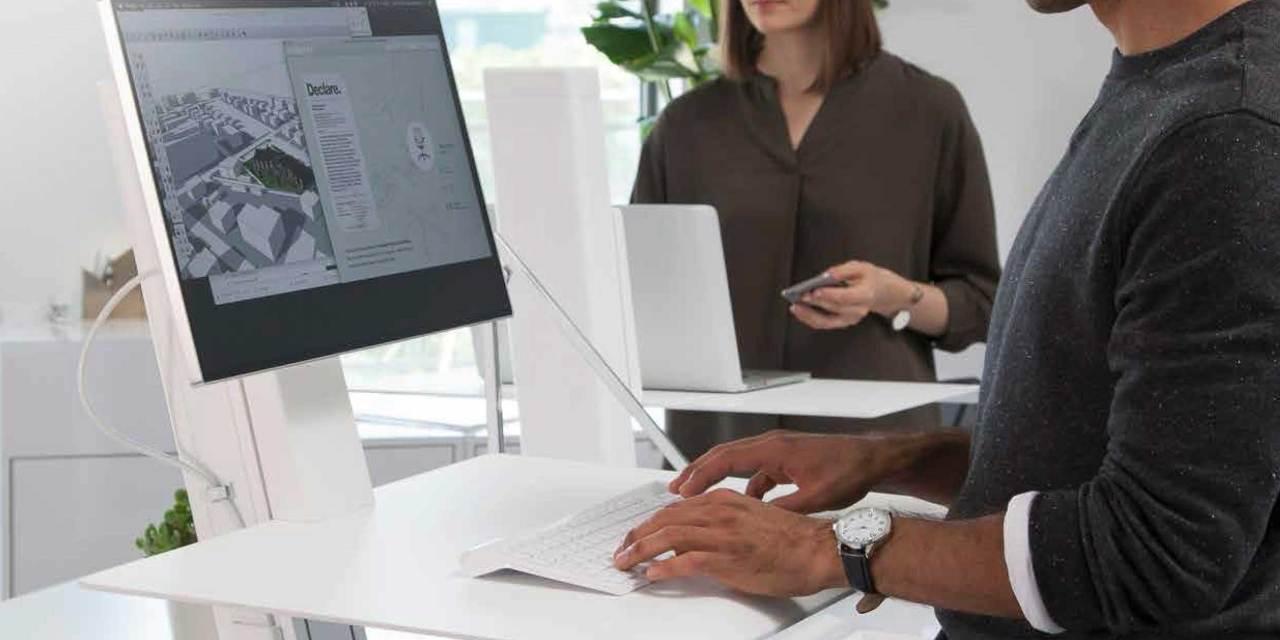 Quickstand de Humanscale: para trabajar de pie o sentado