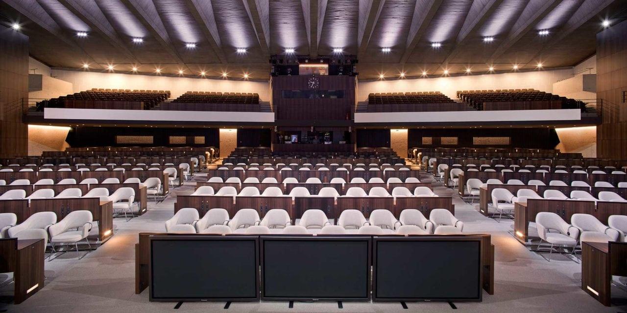 Unesco: un auditorio para construir la paz