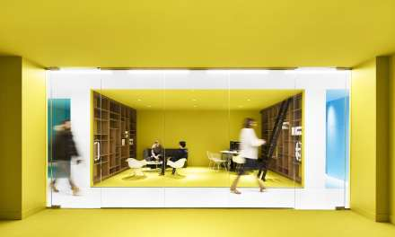 ACDF proyecta las oficinas Playster: goodbye yellow brick road