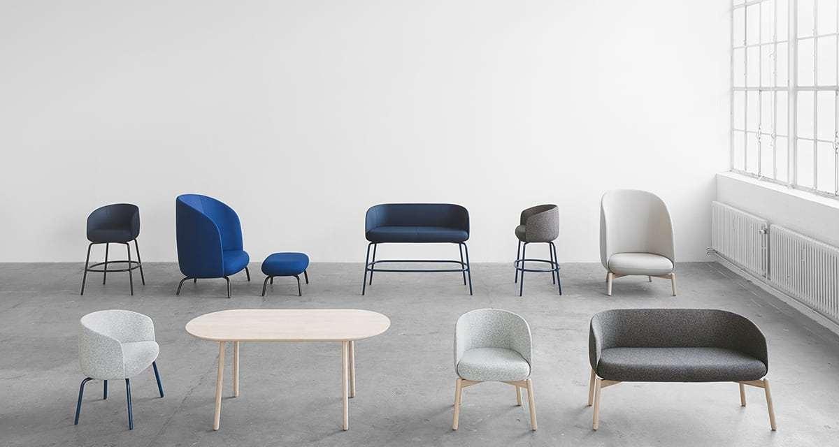 Colección de asientos Easy Nest de +Halle