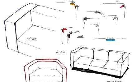 Dado, sofá modular de Alfredo Häberli presentado por Andreu World