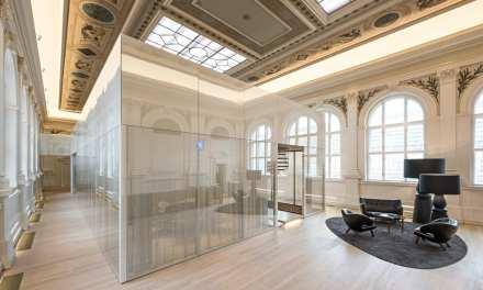 BEHF Architects convierte en oficinas el edificio de Telégrafos de Viena