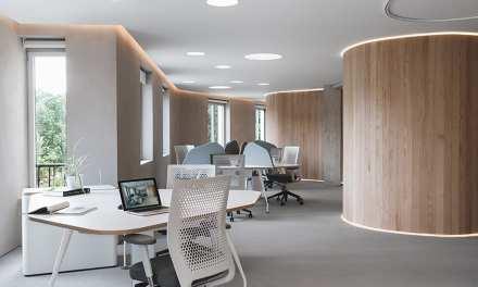 Oficinas Oniria en Pamplona, proyectadas por el estudio MLMR