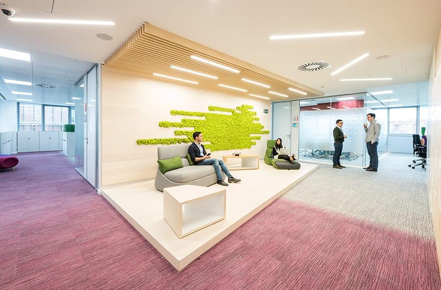 Nueva sede de Roche en Madrid, proyectada por 3g Office
