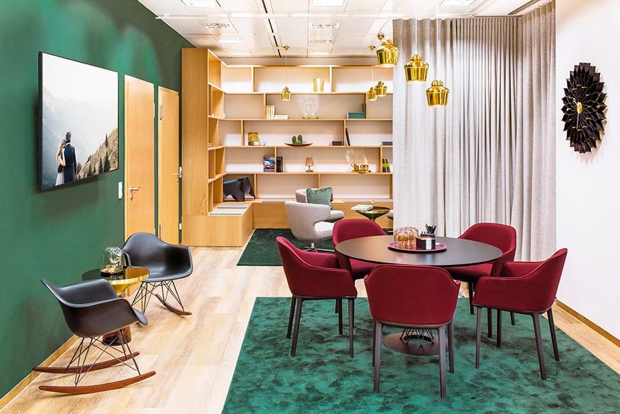 Oficinas y coworking Ecos en Frankfurt, de Designfunktion