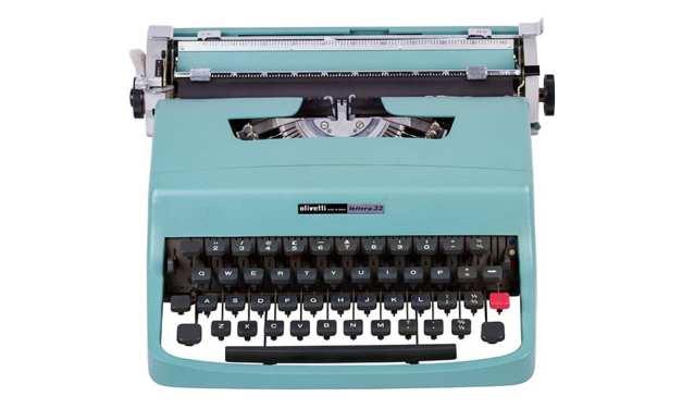 Máquina de escribir: un ordenador con impresora incorporada