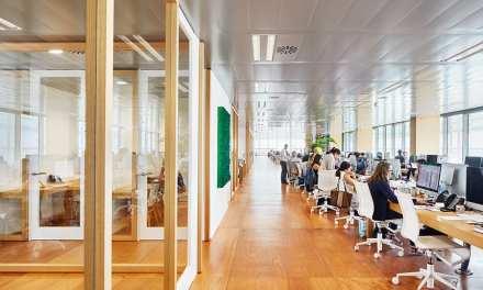 Oficinas de Chemo Group, proyecto de Jorge Vidal