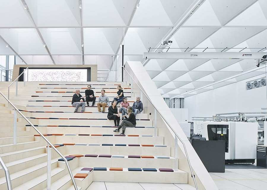 Swarovski Manufaktur, Crystal Atelier del siglo XXI de Snøhetta