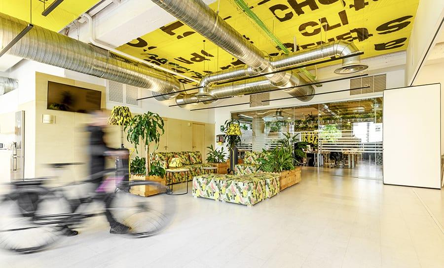 Estudio sAtt proyecta la nueva sede de Greenpeace España en Madrid