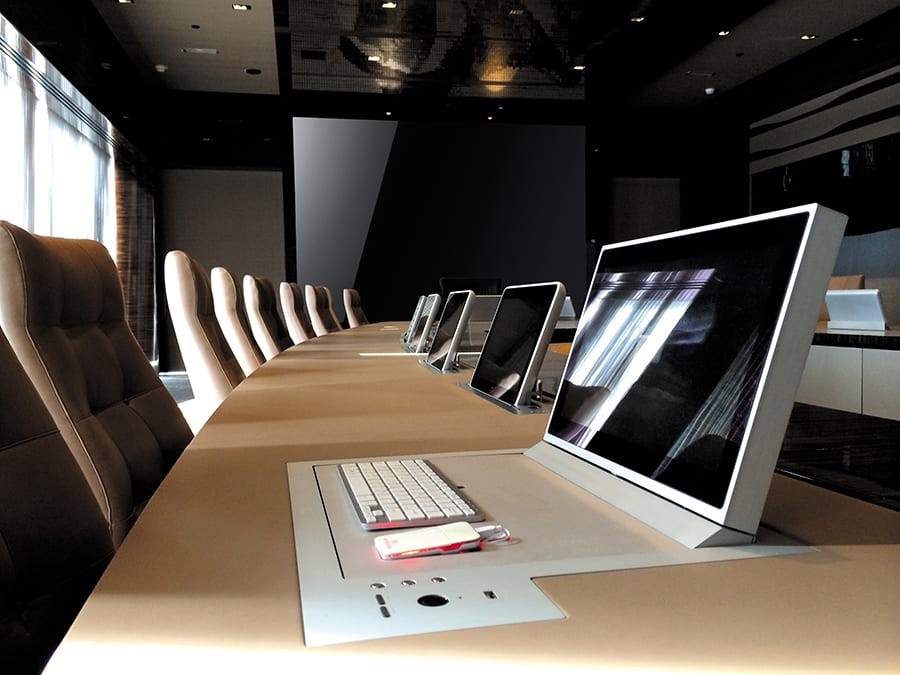 Mesas de reuniones de JMM