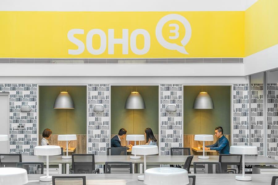 Coworkings Soho 3Q, anyScale