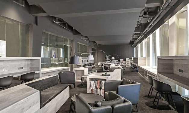 Oficinas Box100 Nanchang, proyecto de Yiduan Shanghai Interior Design