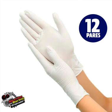 Guantes de Latex - 12 Pares