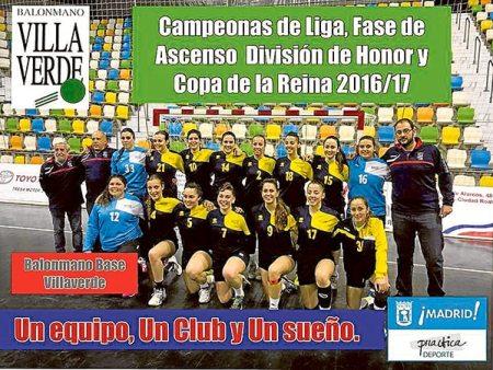 BASE Villaverde campeon DHPF 15-16