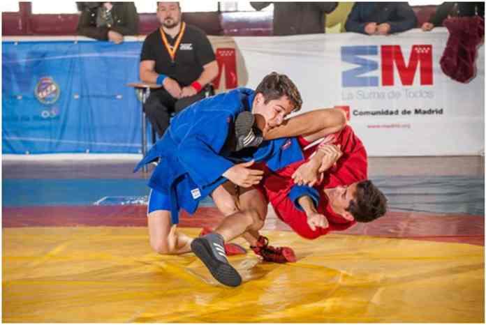 Lucha Sambo Lucha Olímpica