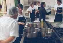 Cocina-incubadora Mares Alimentación