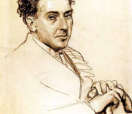 Antonio Machado por Leandro Oroz