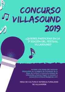 Cartel Concurso Villasound