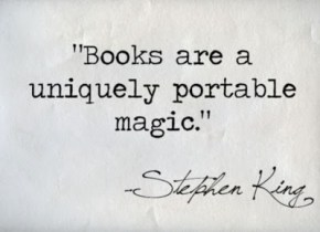 Boekenclub quote Stephen King