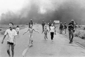 Wereldberoemde foto Vietnam oorlog