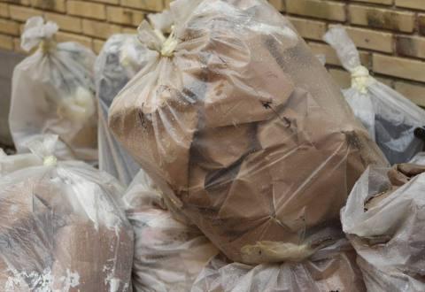50 kg plast ender i skraldespanden