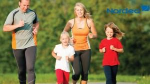 Et familievenligt løb
