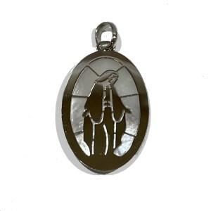 Medaglia Madonna Miracolosa oro