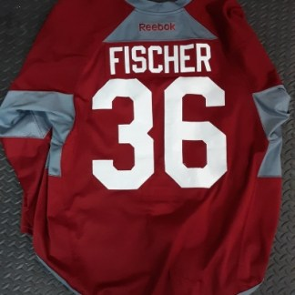 Game Worn Fischer Jersey