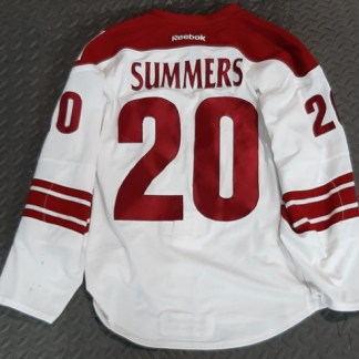 Chris Summers Game Used Jersey