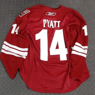 Pyatt Game Used Jersey