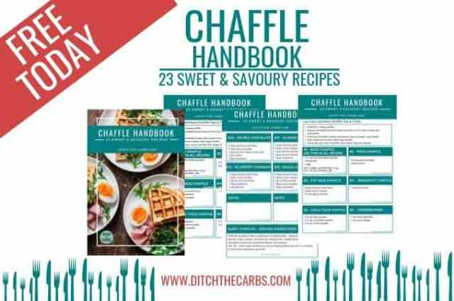 How to make chaffles - featured