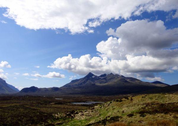 De prachtige Cuillins op het eiland Skye