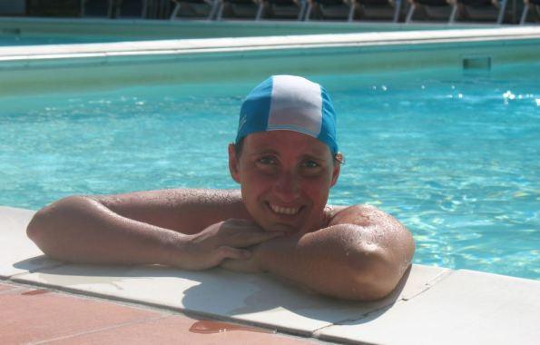 Tegenwoordig heb ik gelukkig lenzen in tijdens het zwemmen! (Foto: Italië 2010)