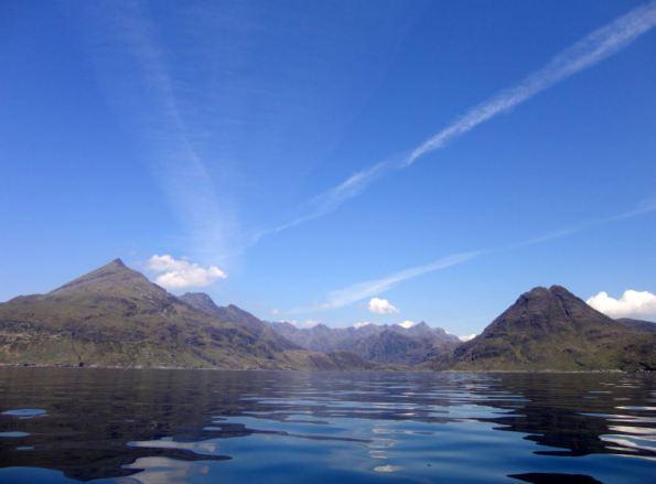 Blauw Schotland Zomer