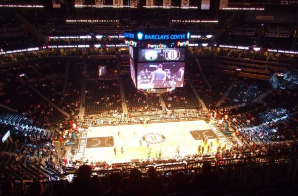 Naar de Brooklyn Nets in Barclay Center