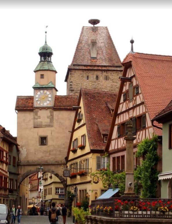 Rothenburg Romantische Strasse