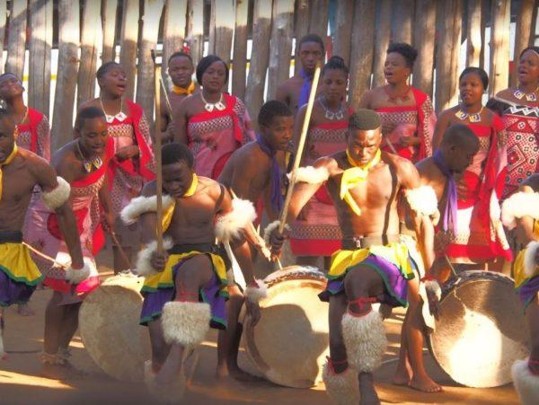 Mantenga Swaziland traditionele dans