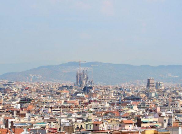 Montjuïc heuvel Barcelona