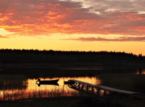 Westkust Zweeds Lapland Buiten gebaande Paden