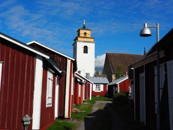 Gammelstad Oostkust van Zweeds Lapland