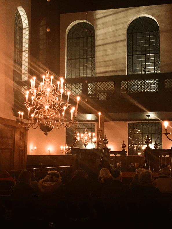 Kaarslichtconcert Portugese Synagoge