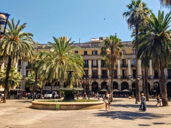 Barcelona hotspot
