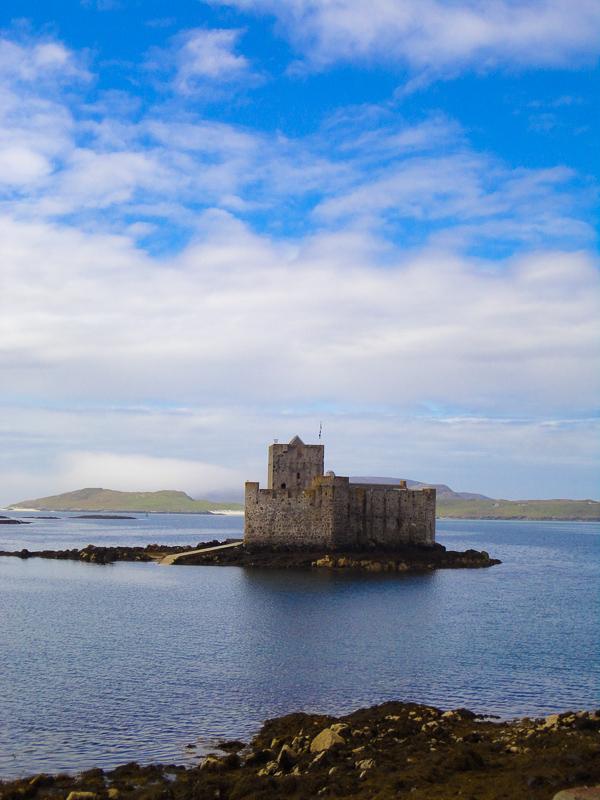 Castlebay Barra Schotland
