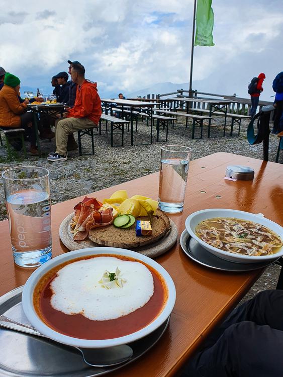 Watzmannhaus lunch