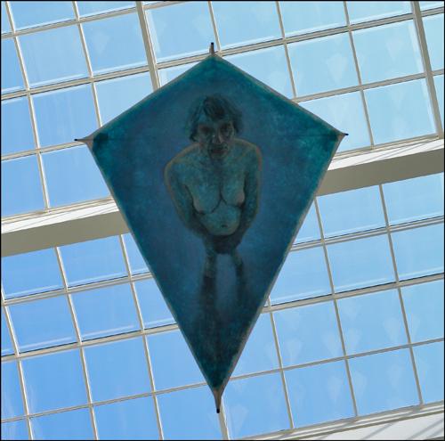 Naked old kite