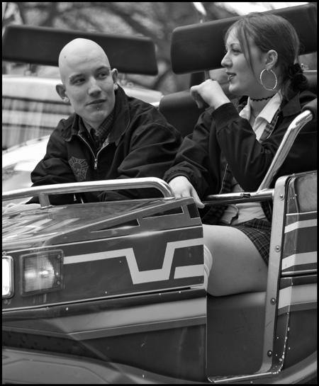 Skinhead & girl
