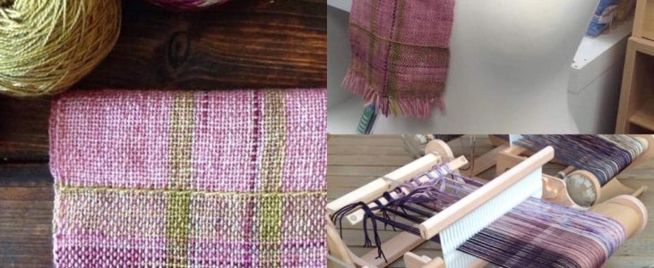 Weave a Scarf Workshops at Ditzy Rose Makery