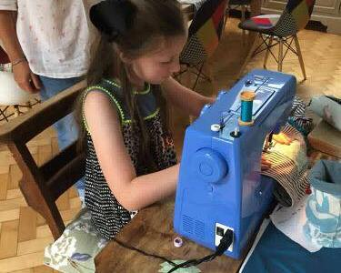Homeschooling crafts and sewing in Chester