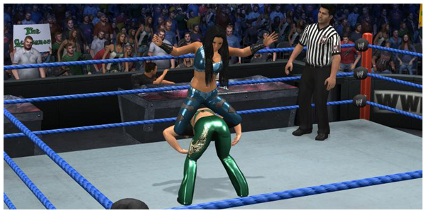 Smackdown Vs Raw 2011 Divas Entrance Finisher Videos More Pictures Diva Dirt